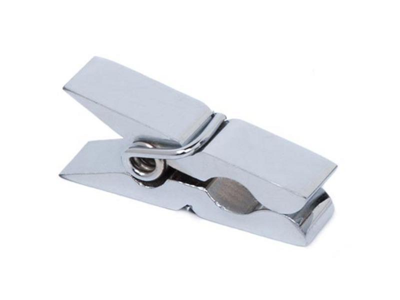 Chrome Mini Clothespin