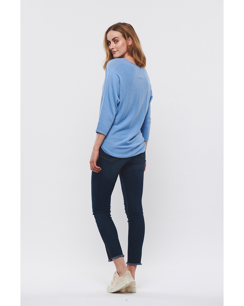 PART TWO PART TWO HIDO COTTON/ CASHMERE PULLOVER