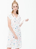 VILAGALLO VILAGALLO SHORT SLEEVE DRESS