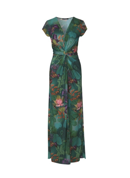 ILSE JACOBSEN ILSE JACOBSEN MAXI DRESS DEEP LAKE