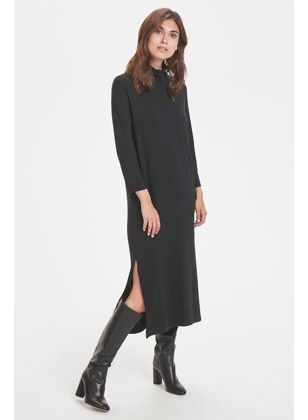 PART TWO PART TWO REBBIE ROLL NECK DRESS