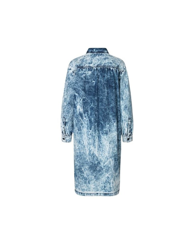 MADS NORGAARD SANORA SOFT ACID DENIM DRESS