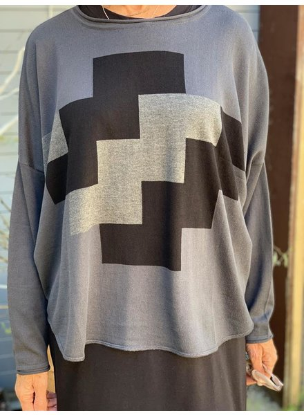 PLANET PLANET PUZZLE SWEATER