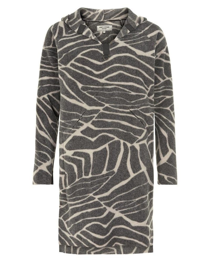 HENRIETTE STEFFENSEN LONG TUNIC WITH HOOD