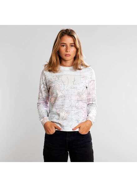 DEDICATED DEDICATED MALMOE MAP SWEATSHIRT