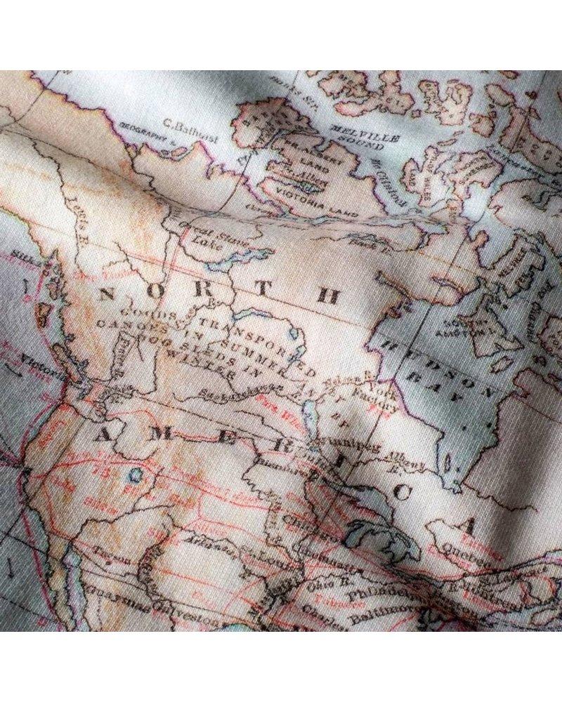 DEDICATED DEDICATED MALMOE MAP SWEATSHIRT