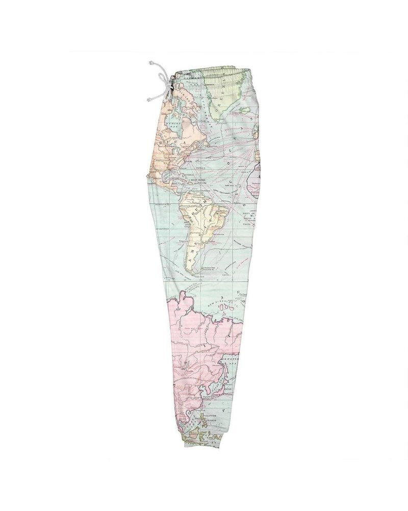 DEDICATED DEDICATED LUND MAP JOGGERS