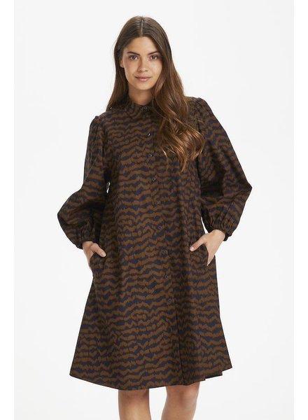 PART TWO PART TWO ELEINA WOVEN DRESS