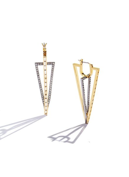 SARAH MAGID Sarah Magid Crystal Earrings