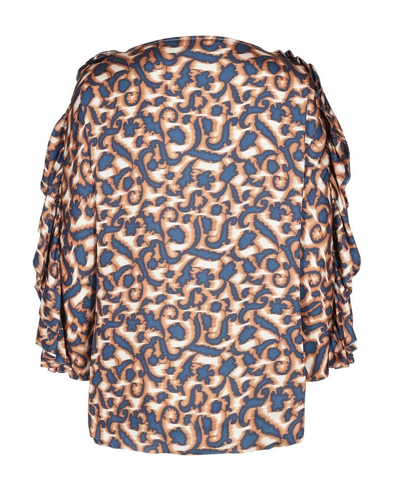 DAY DAY CHIEF BLOUSE VIOLETTE DARK TEAL