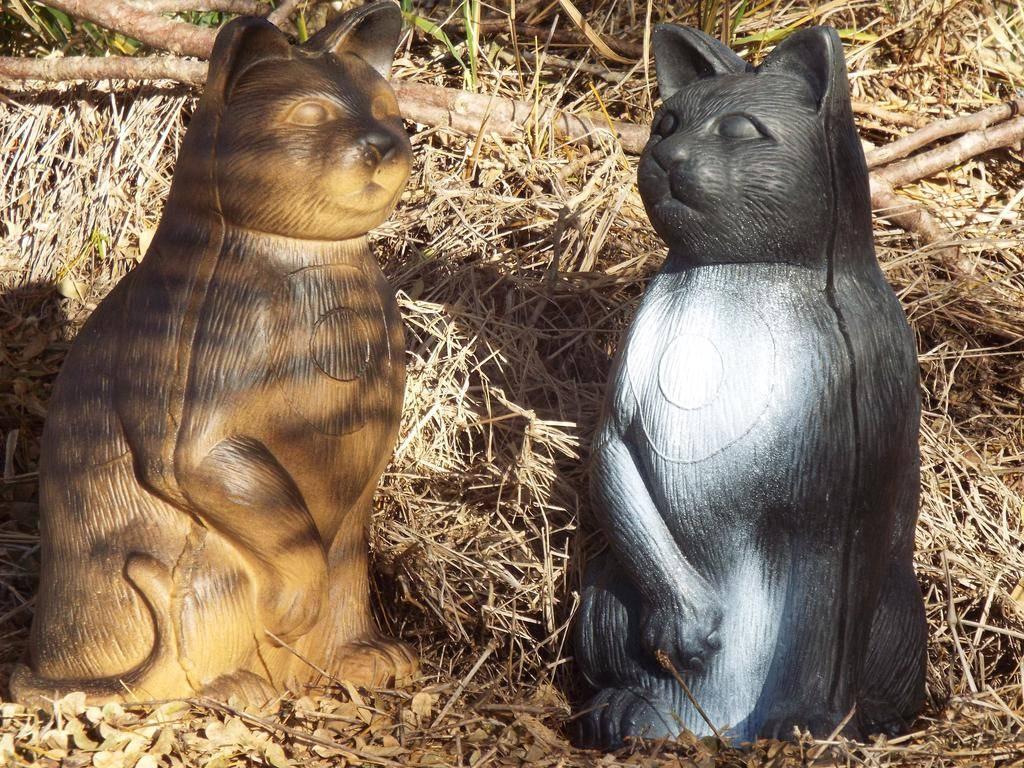 Southern Cross Targets SCT 3D Feral Cat Target Black/Grey