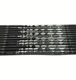 Cross X Cross X Ambition 12 Arrow Shafts with Pin, Nock & Point .003 500 Spine