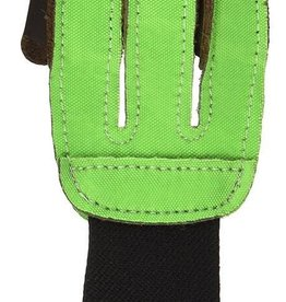 Neet Neet 3 Finger Shooting Glove Neon Green Med