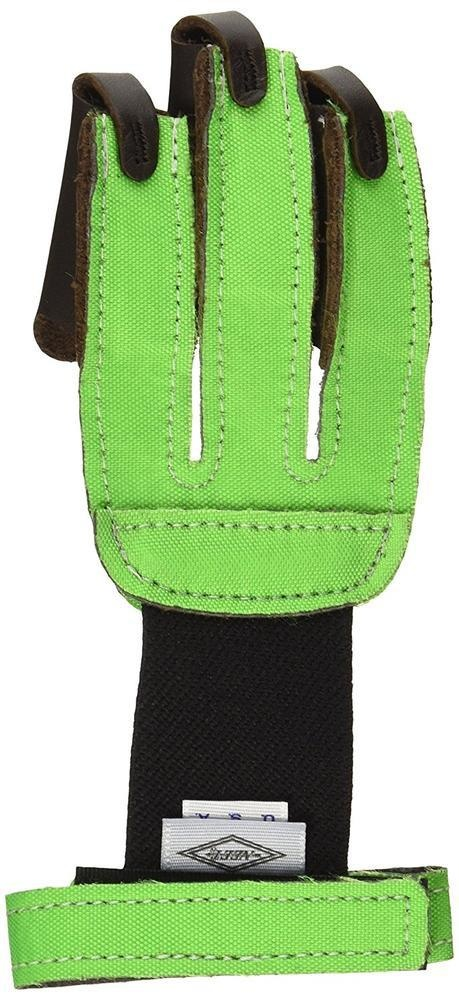 Neet Neet 3 Finger Shooting Glove Neon Green Lge