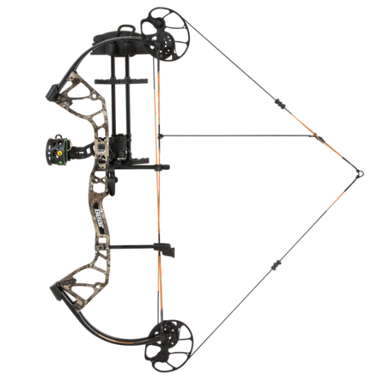 "Bear Archery Royale RTH in Realtree Edge from Bear Archery. RH/Camo/5 - 50lb, 12 - 27"" Draw Length"