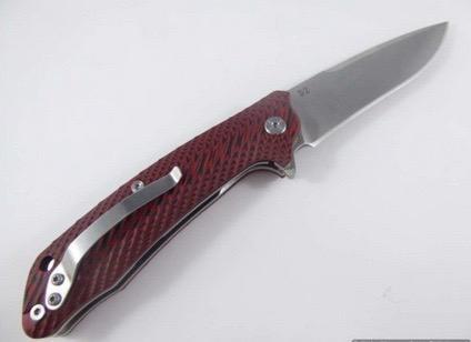 Tassie Tiger Knives Tassie Tiger Folding Knife, Flipper opening, G10 handle