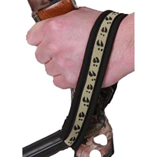 Outdoor Pro Staff Outdoor Wrist Sling Deer Tracks Brown
