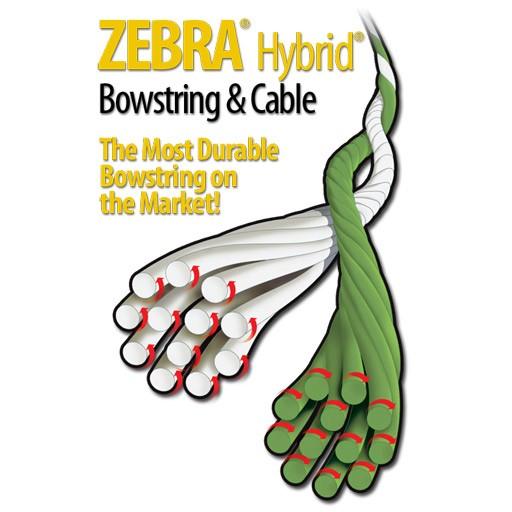 "Zebra Cable 31 9/16"" Young Gun Green/Orange"