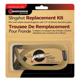 Marksman Marksman Slingshot Tapered Band - Clear