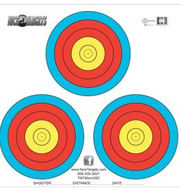 Nice Target Nice Target 40cm Three Spot Color (Each)