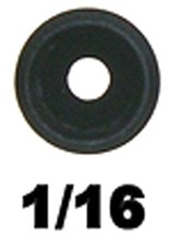 """Specialty Archery Specialty 1/8"""" Super Ball Peep Aperture 1/16"""""""