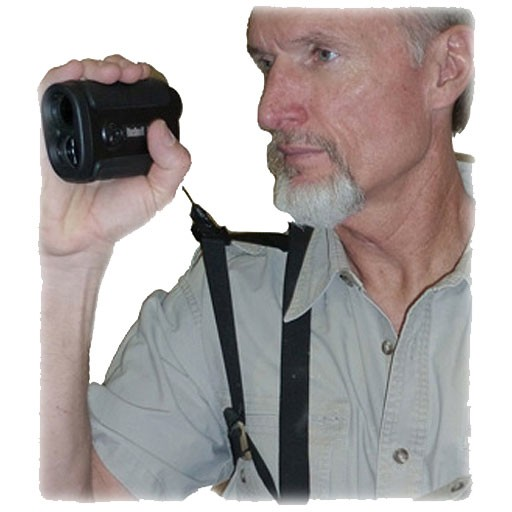 Crooked Horn Outfitters Crooked Horn Bino-Rangefinder Harness System Black