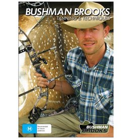 Dave Brooks Bushman Brooks Tanning & Techniques DVD