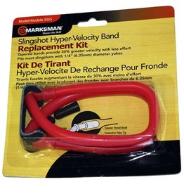 Marksman Marksman Slingshot Tapered Band Red