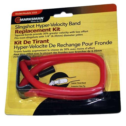 Marksman Marksman Slingshot Tapered Band Red