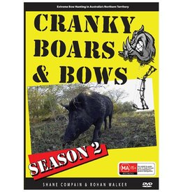 Shane Compain Cranky Boars & Bows 2 Dvd