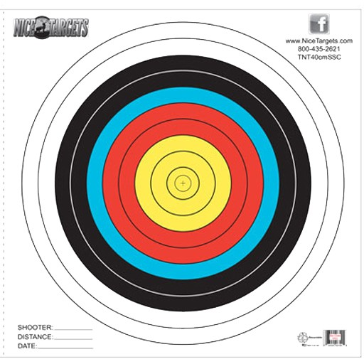 Nice Target Nice Target 40cm Single Spot Color (Each)