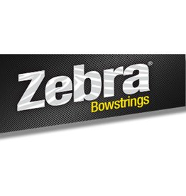 "Zebra Zebra Bow Cable 28 1/8"" Chill"
