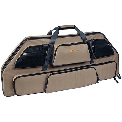 "Allens Allen Gear Fit Pro Bow Case 39"" Tan/Gry"
