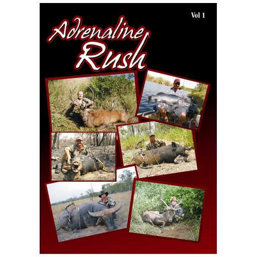 2 Blade Productions Adrenaline Rush Vol 1 DVD