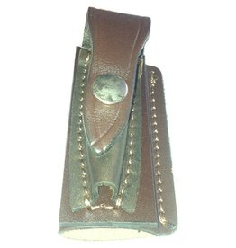 The Knife Kompany Leather Pocket Knife Pouch Push Stud 4""