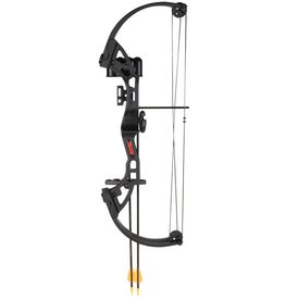 Bear Archery Bear Brave 15-25lb RH Black