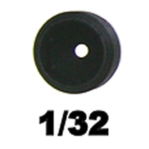 """Specialty Archery Specialty 1/8"""" Super Ball Peep Aperture 1/32"""""""