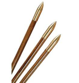 3Rivers Archery Bullet Nose Brass Glue On 5/16 125gr. (Each)