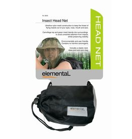 elemental Pocket Head Net With Pouch Camo