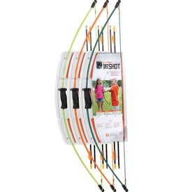 Bear Archery Bear 1 Shot Youth Recurve Set LH or RH Flo Green