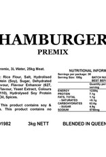 Butcher at Home Hamburger Premix 3kg