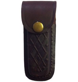The Knife Kompany Verticle Printed Pocket Knife Pouch Push Stud 4""