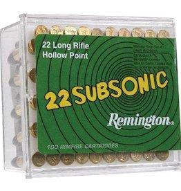 Remington Remington Subsonic 22 LR 38gr 100Pkt