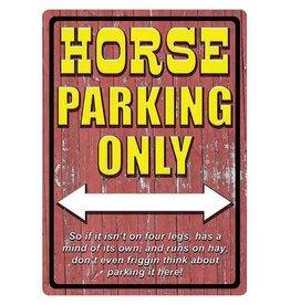 Rivers Edge Rivers Edge Tin Sign - Horse Parking