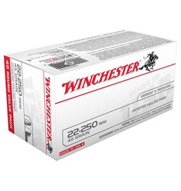 Winchester Winchester USA Value Pack 22-250REM 45Gr JHP 40Pkt