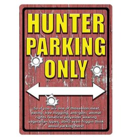 Rivers Edge Rivers Edge Tin Sign - Hunter Parking