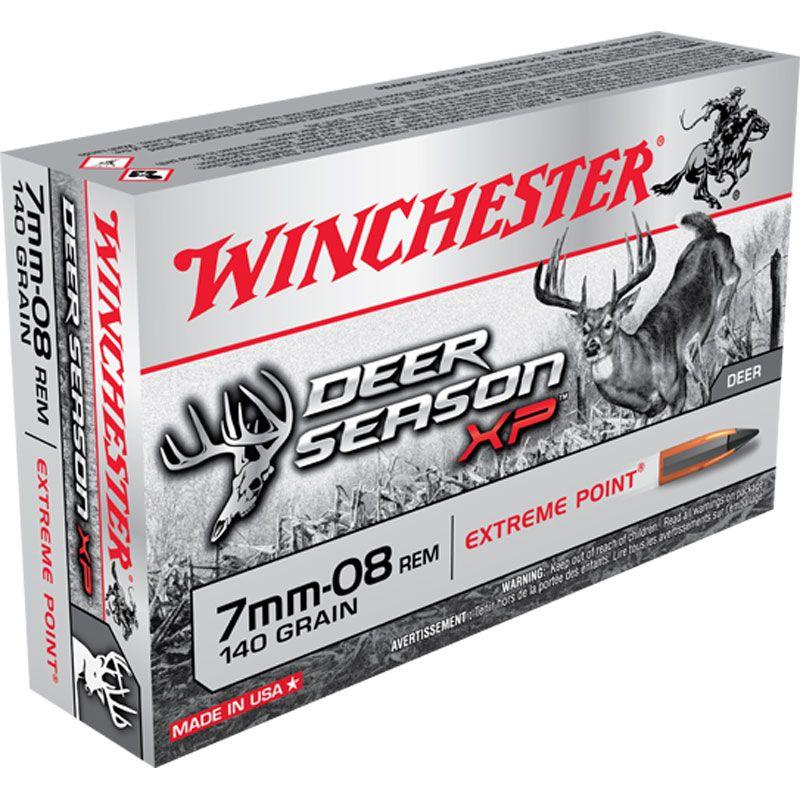 Winchester Winchester Deer Season 7MM-08 140gr XP 20Pkt
