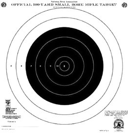 Hoppes Hoppes 9 Competition 100yd Small Bore Rifle Target 20Pk