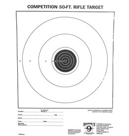 Hoppes Hoppes 9 Competition 50ft Rifle Target 20Pk
