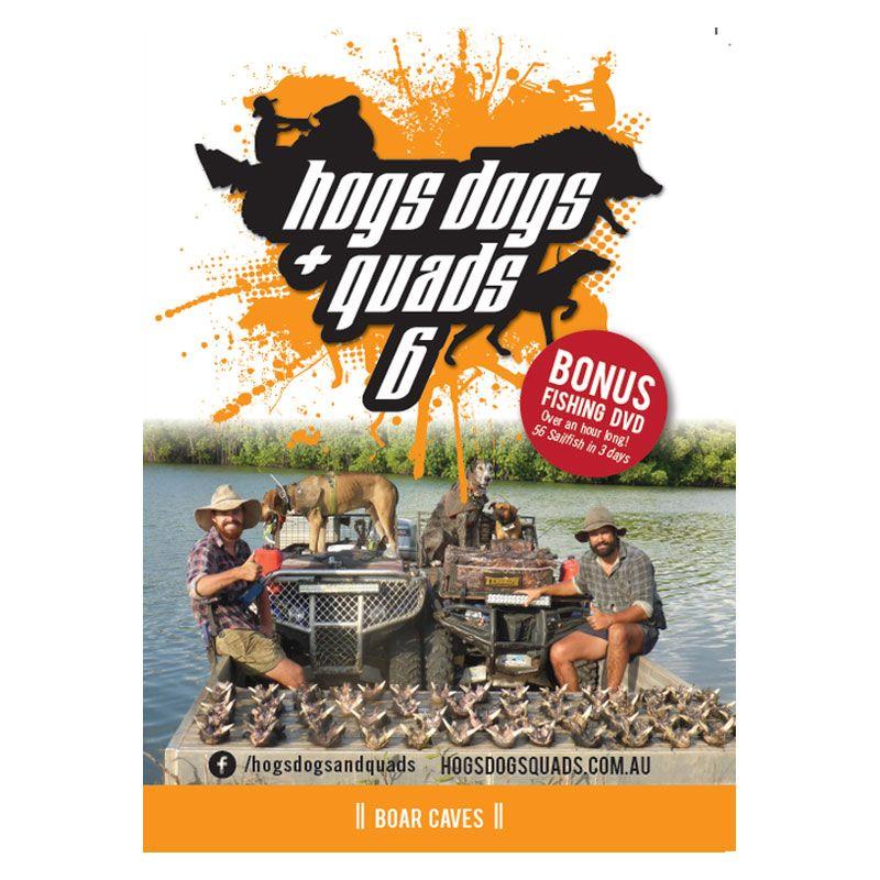 AFN Hogs Dogs & Quads 6 DVD